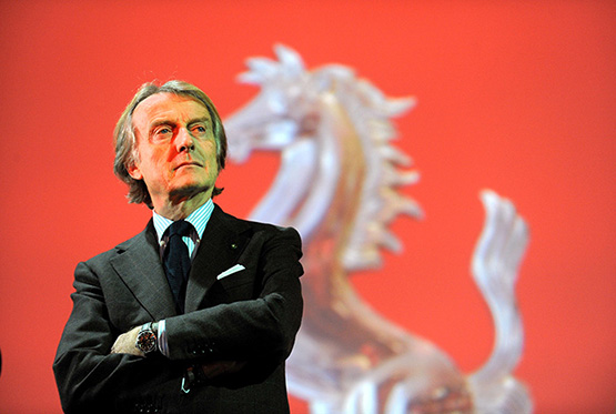 Luca Cordero di Montezemolo  steps down as chairman of Ferrari