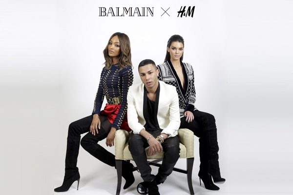 H&M Teams Up With Balmain