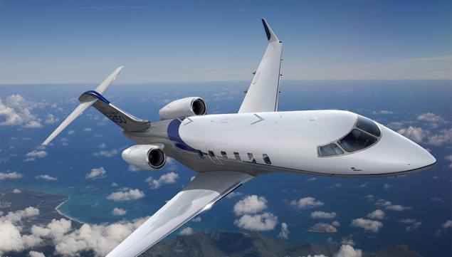 The Bombardier Aerospace Challenger 350 for NetJets
