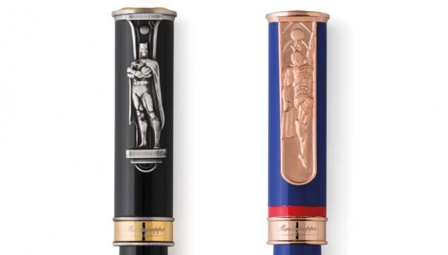 DC Comic Characters Get Luxury Pen Treatment