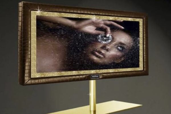 $2.25 Million Gold Embellished TV is the World's Most Expensive