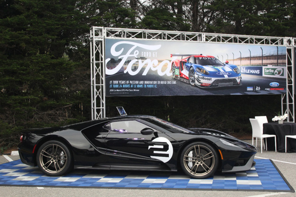 5. All-New Ford GT Supercar Gets an Additional Two Years