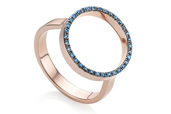 Monica Vinader's Exquisite Blue Diamond Naida Collection