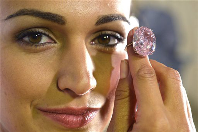 'Pink Star' Diamond Auctioned for Record Breaking $83 Million