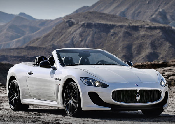 The Maserati GranCabrio MC Stradale