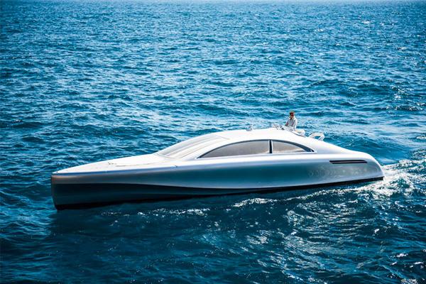 Mercedes-Benz Introduces the Arrow460-Granturismo Super-Yacht