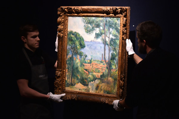 18th Century Paul Cezanne Artwork Sells for $20.5 million