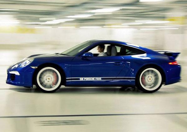 911 Carrera 4S designed by Porsche Facebook Fans