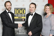 Red Carnation Hotel collection rises to number 26 in the 'Sunday Times top 100 companies to work for' in its second year listed