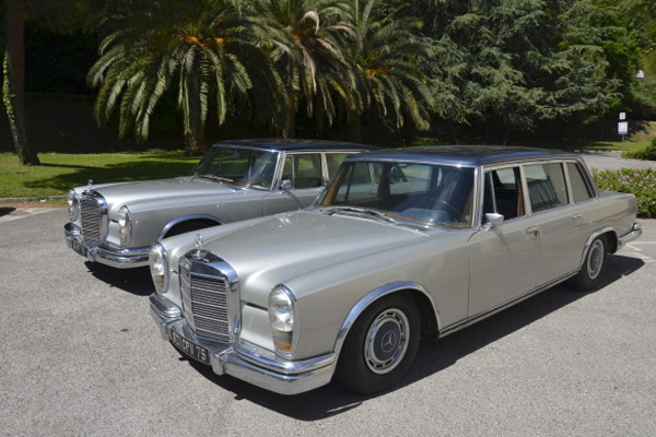 2 of Maria Callas' Luxury Limos Go up for Auction