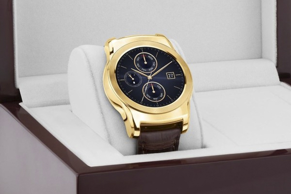 Introducing the Gold Urbane Luxe Watch