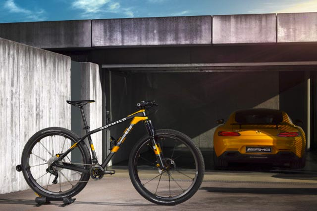 Behold the Mountain Bike by Mercedes Benz