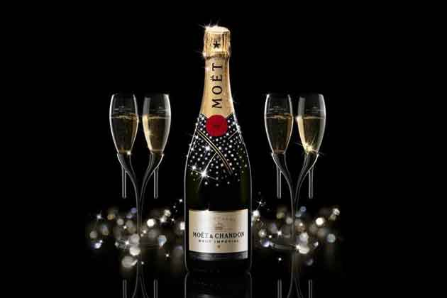 Bouteille de champagne - 1 5