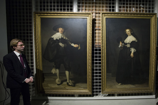 A Ground-Breaking Deal Sees Two Rembrandt Portraits Sell for $175 million
