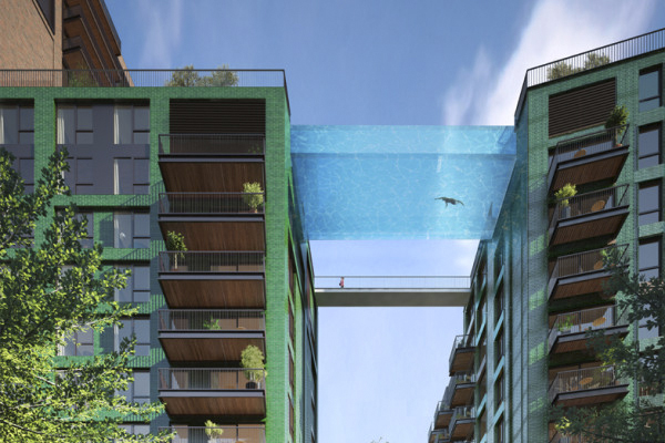 Planned Suspended Pool in London a World's First