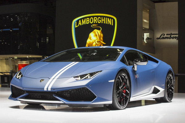 2. Is Lamborghini Prepping Intelligent Sportscars?
