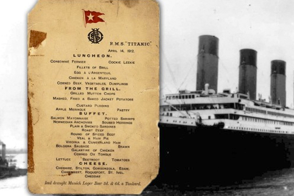 3 Invaluable Items from the Titanic up for Auction