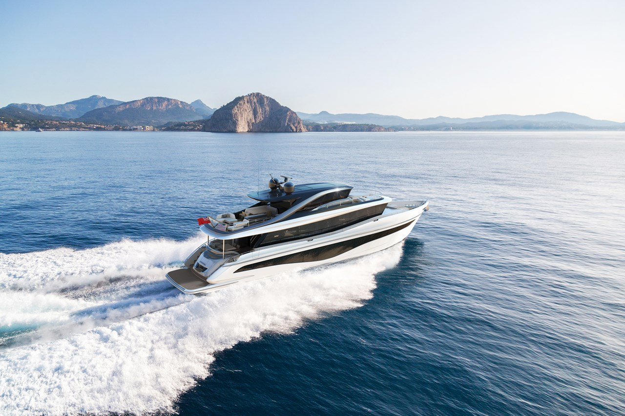 The X80 Extends Princess Yachts' Luxurious Prowess
