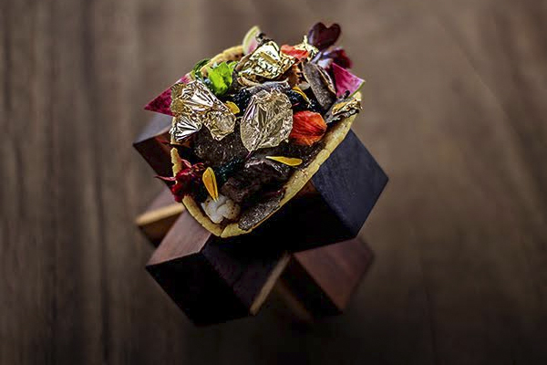 The World's Most Expensive Taco is Dressed with Gold