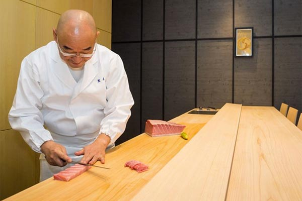 Exclusive London Restaurant Araki Receives Three Michelin Stars