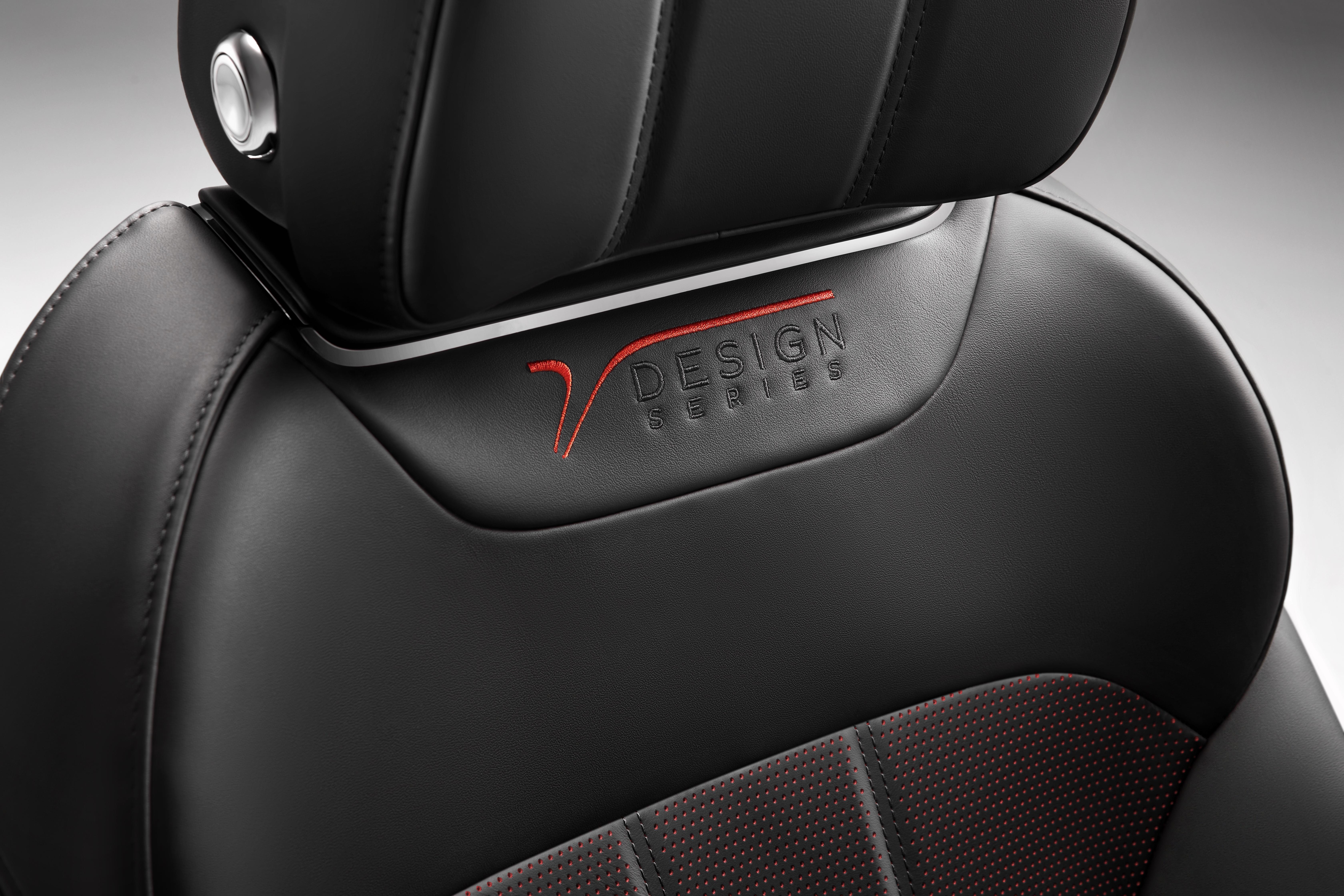 Bentayga Design Series Seat Red (8)