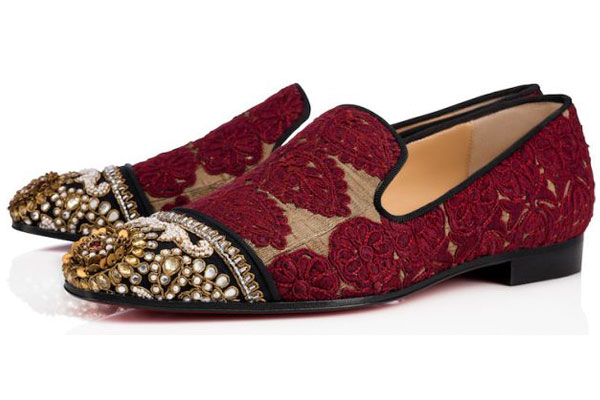 182a1bdb9dba Christian Louboutin and Indian couture designer Sabyasachi Mukherjee have  partnered up on an incredibly exclusive capsule collection for women and  men.