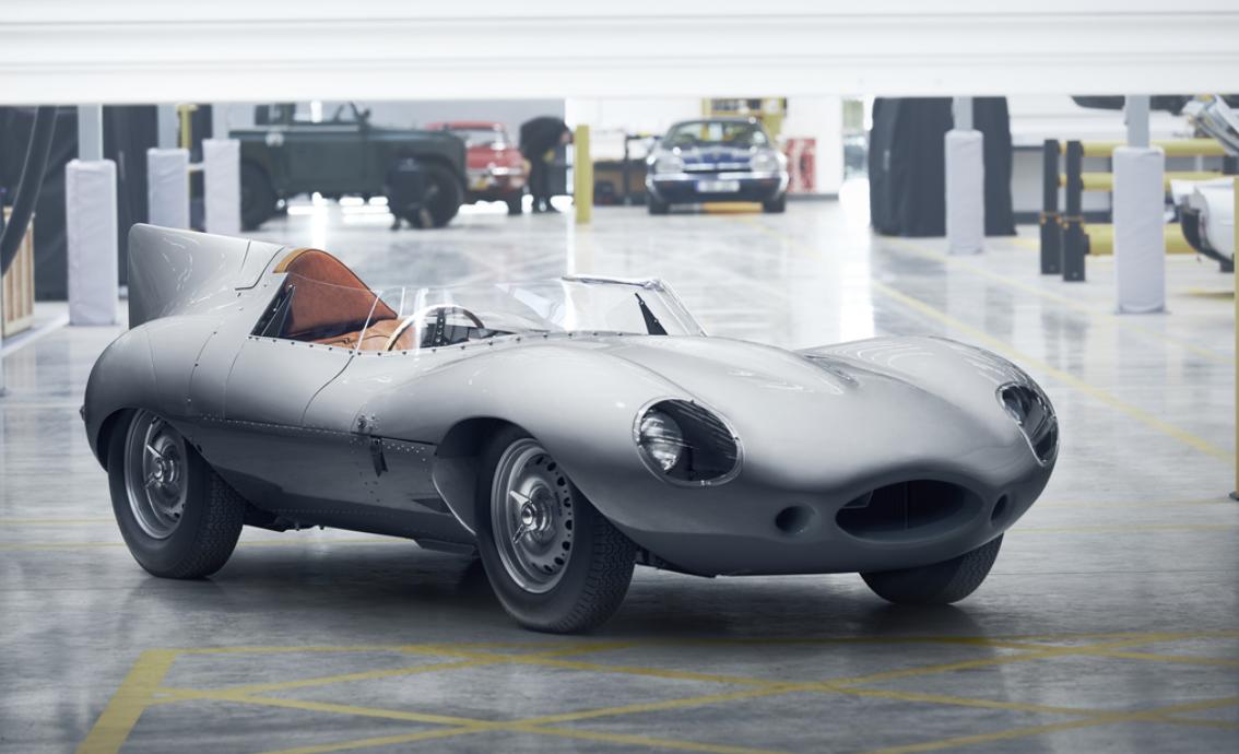 Jaguar's Legendary D-Type Race Car Back on the Production Line