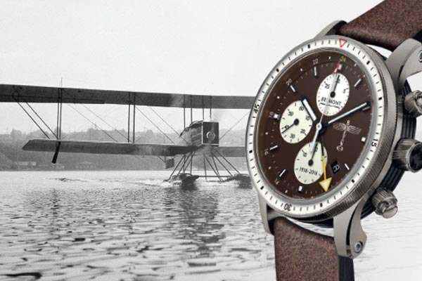 Stunning Bremont Chronograph Commemorates Boeing's 100th Anniversary