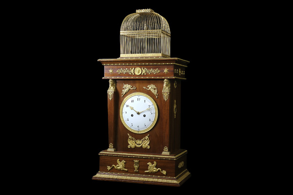 Pierre Jaquet-Droz: Singing Bird Pendulum Clock Lovingly Restored