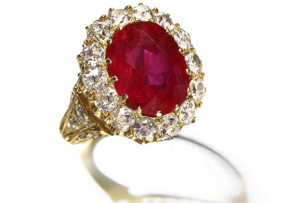 Stunning Burmese Ruby Ring Shatters Auction House Record