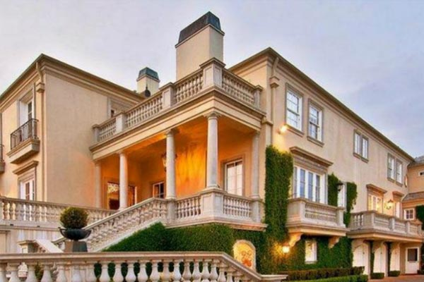 Elon Musk's Bel Air Mansion is a Neoclassical Feast for the Eyes