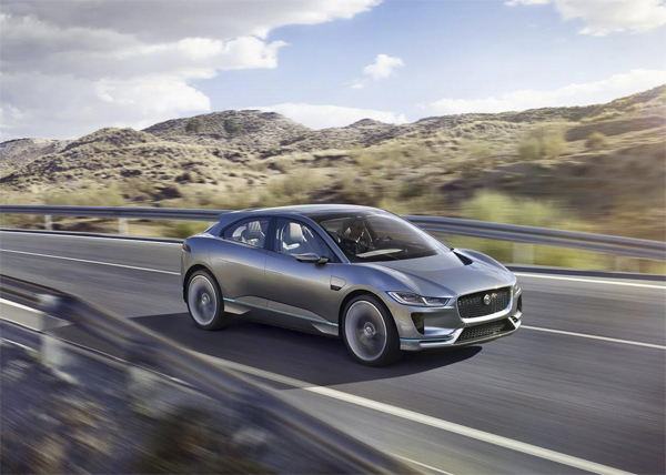 Jaguar's I-PACE Concept is Daringly Innovative