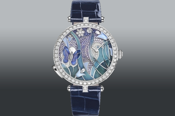 2. Van Cleef & Arpels Wow with the Lady Arpels Papillon Automate
