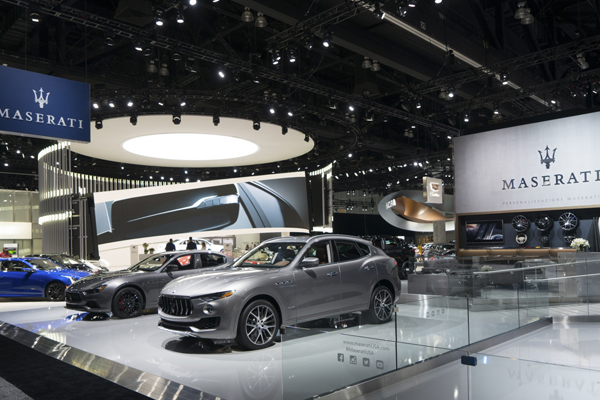 Maserati Debuts the Nerissimo Package 2017 Los Angeles Auto Show