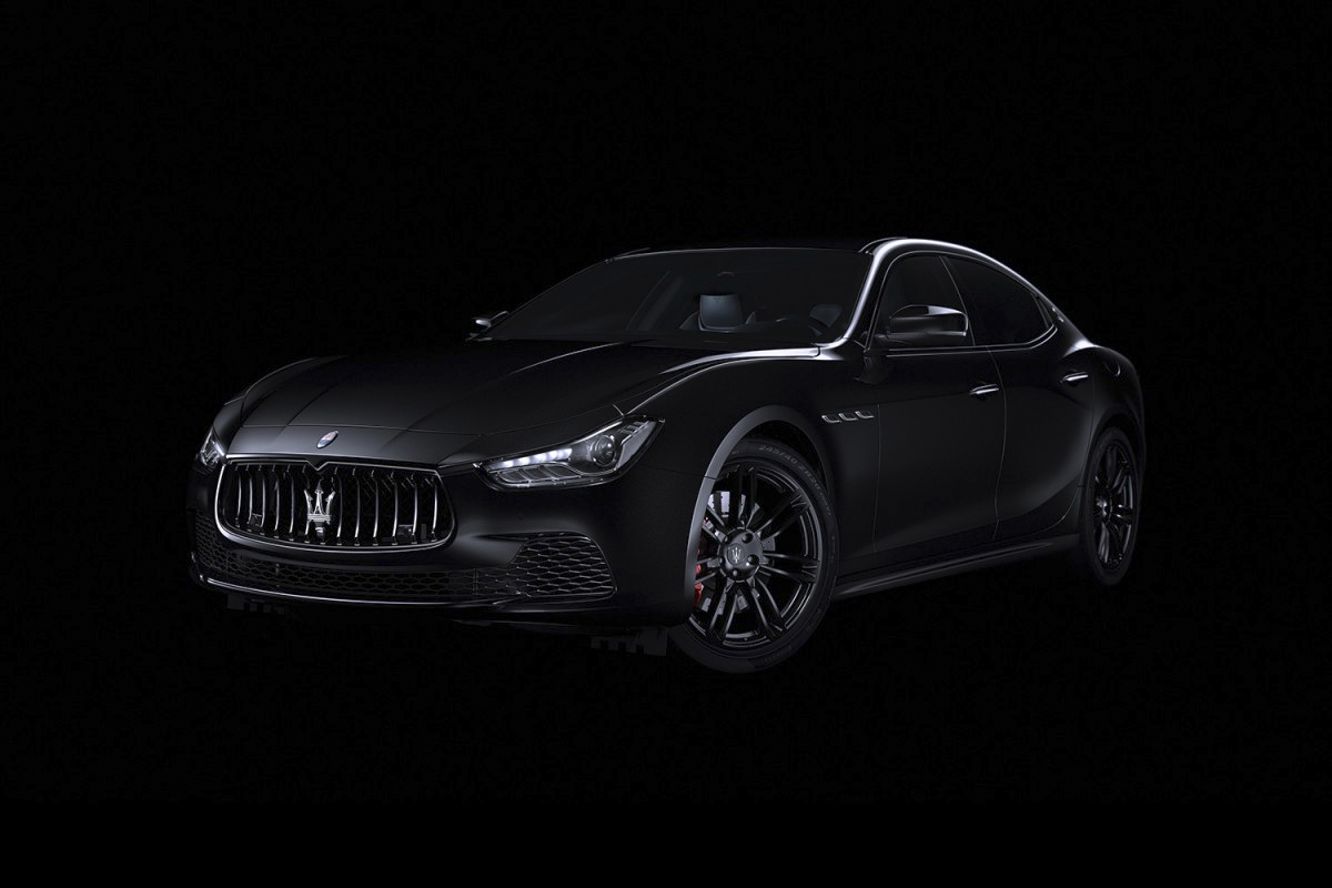 Maserati's Nerissimo Limited to 450 Exclusive Releases