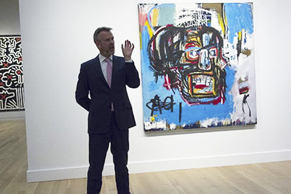 Basquiat Painting Smashes Auction Records!