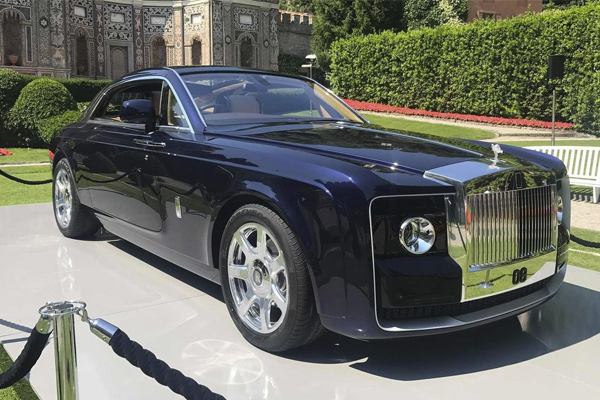 'Sweptail' – A Dream Come True for One Rolls-Royce Patron
