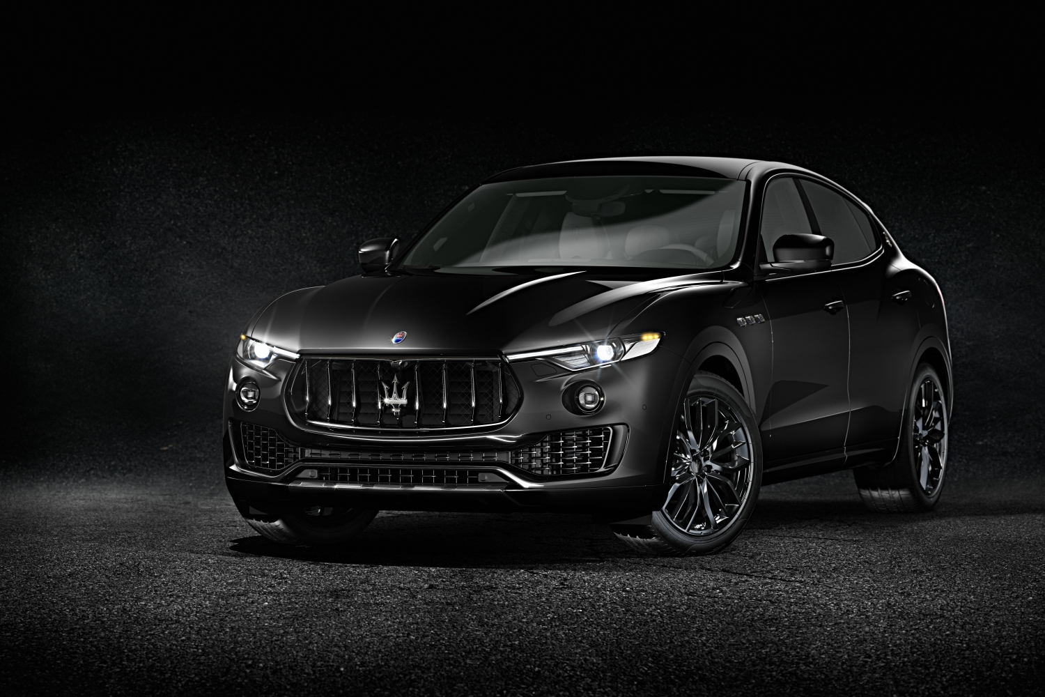 Maserati Premieres Total Black Editions at 88th Geneva Motor Show