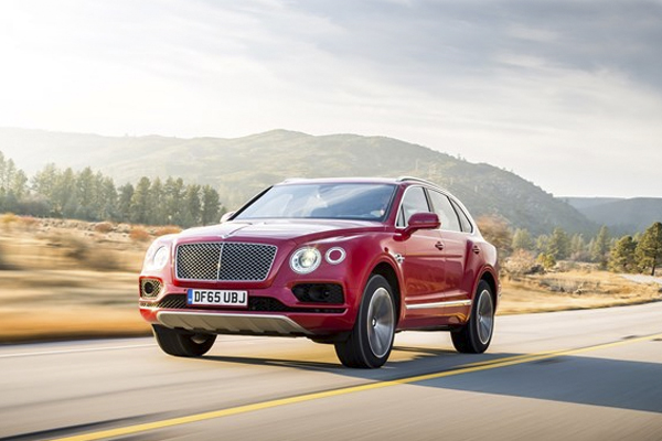 4. Bentley Bentayga: Definite SUV of the Year