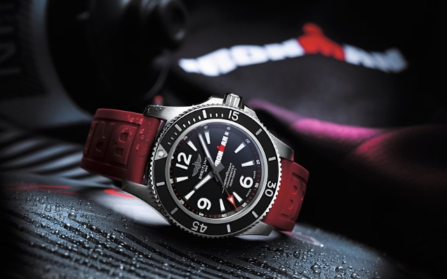 Breitling Brings Robust, High-Performance Luxury To IRONMAN®