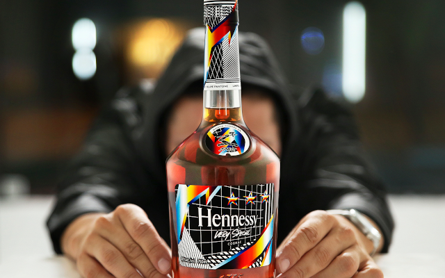 Remixing the Present: Hennessy Very Special Limited Edition by Felipe Pantone