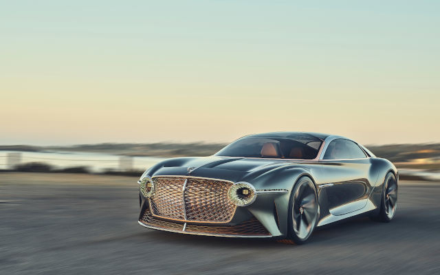 Bentley's Visionary EXP 100 GT Unveiled At Monterey Car Week 2019