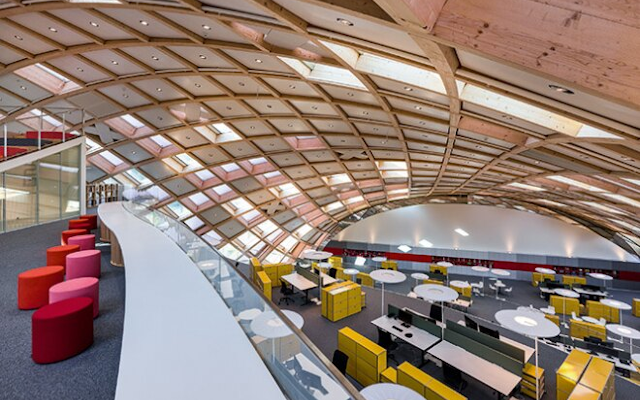 Swatch Inaugurates Its Revolutionary, One-Of-A-Kind Headquarters