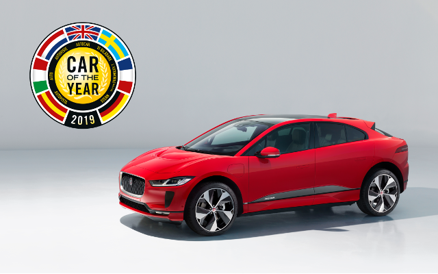 Jaguar I-PACE Lauded With 'Car Of The Year'