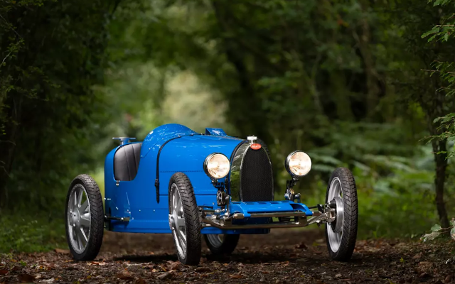 Iconic Revived: Baby II For Bugatti's 110th Birthday