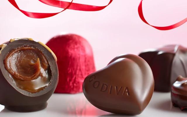 Godiva Chocolatier Reveals Their Irresistible Valentine's Day Specials