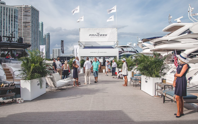 Princess Yachts To Grace Prestigious Boat Show With 8-Yacht Luxury Flotilla