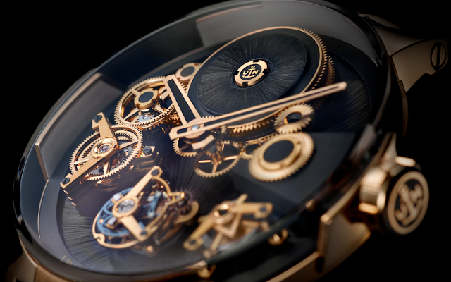 Ulysse Nardin Outfits A Classic In Four Magnificently Daring Materials