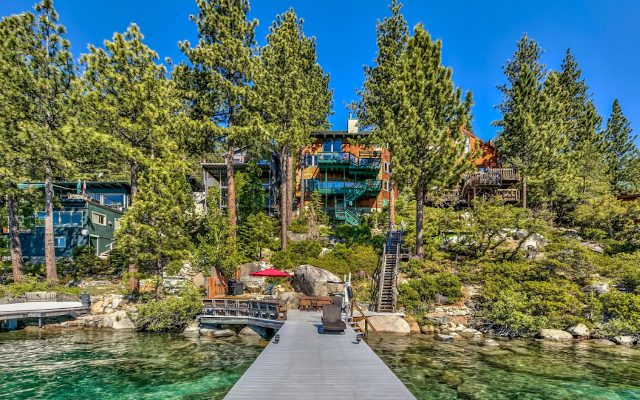 'Perfectly Perched' Lake Tahoe Beauty Snapped Up For Over $3 Million