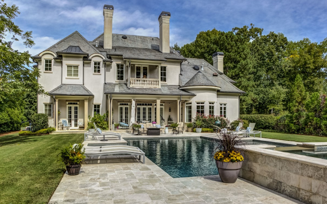 Luxuriously Appointed French Provincial-Style Estate Sells For $2.6 Million